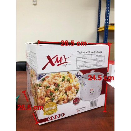 XMA 1.8L Straight Type Rice Cooker XMA-188RC