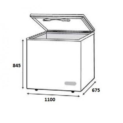 Faber 300L Chest Freezer FZ-F328 (N)