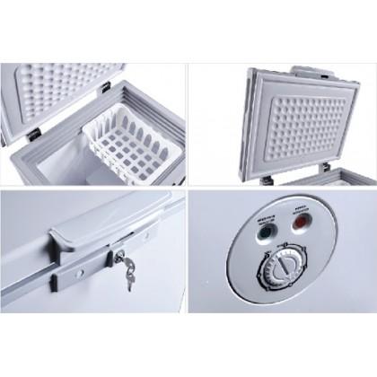 Faber 80L Chest Freezer (Grey) FZ FREDDO 95