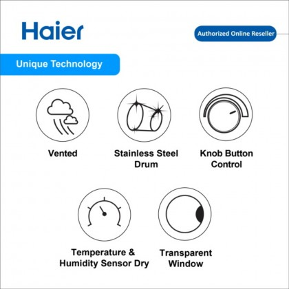 Haier (6kg) D60 Series Dryer HDY-D60