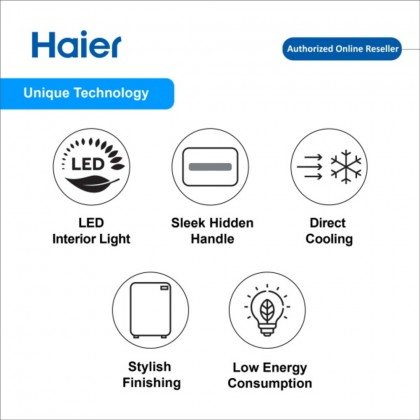 Haier (124L) Single Door Refrigerator HR-135H