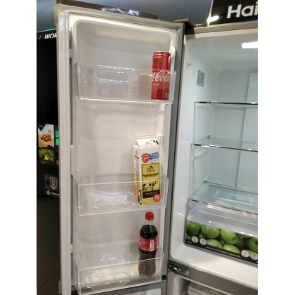Haier (560L) 4 Door Glass Series Inverter Refrigerator Black HRF-IG525AM(GB)