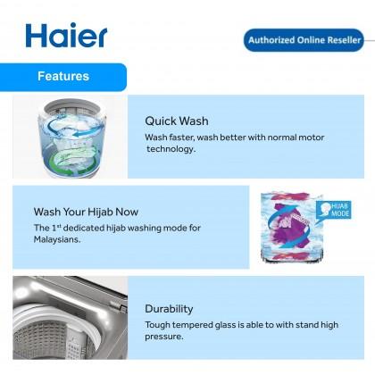 Haier (8kg) Fully Auto Washing Machine HWM80-M826