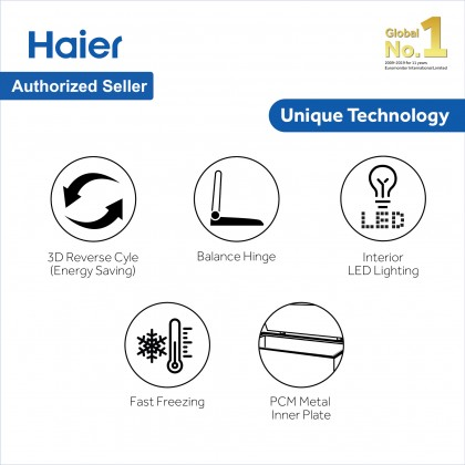Haier (750L) Chest Freezer Convertible (Freezer <> Fridge) BD-788HP (BD-788HP)