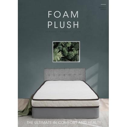 Sleephaus (Single) 4.5 inch Bamboo Basic Reborn Foam Plush Mattress