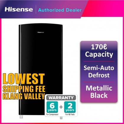 Hisense (170L) Single Door Fridge RR196D4ABM (RTV)