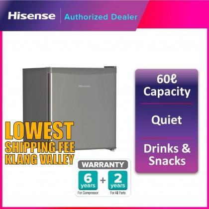 Hisense (58L) Single Door Mini Refrigerator Fridge RR58D4AGN (RTV)