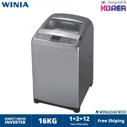 DAEWOO (16KG) Top Load Washing Machine / Direct Drive / MODEL DWF-G6516DDG